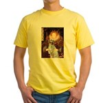 Queen / English Setter Yellow T-Shirt