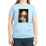 Queen / English Setter Women's Light T-Shirt