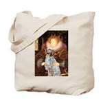 Queen / English Setter Tote Bag