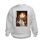 Queen / English Setter Kids Sweatshirt