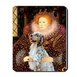 Queen / English Setter Mousepad
