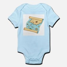 Pirate Treasure Map Infant Bodysuit