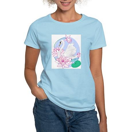 Rangoli Swanlake Women's Pink T-Shirt