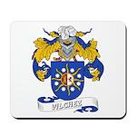 Vilchez Family Crest Mousepad