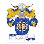Vilchez Family Crest Small Poster