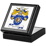 Vilchez Family Crest Keepsake Box