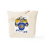 Vilchez Family Crest Tote Bag