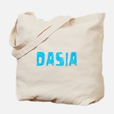 Dasia Faded (Blue) Tote Bag