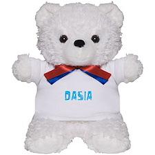Dasia Faded (Blue) Teddy Bear