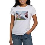 Creation / Catahoula Leopard Women's T-Shirt
