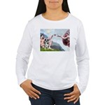 Creation / Catahoula Leopard Women's Long Sleeve T