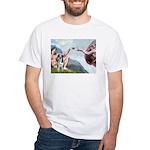 Creation / Catahoula Leopard White T-Shirt