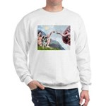Creation / Catahoula Leopard Sweatshirt