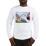 Creation / Catahoula Leopard Long Sleeve T-Shirt