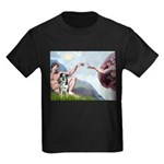 Creation / Catahoula Leopard Kids Dark T-Shirt