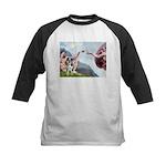 Creation / Catahoula Leopard Kids Baseball Jersey