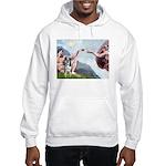 Creation / Catahoula Leopard Hooded Sweatshirt