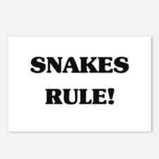 Snakes Rule Postcards (Package of 8)