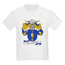 Villanova Family Crest Kids T-Shirt