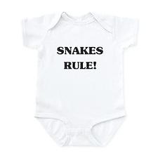Snakes Rule Infant Bodysuit