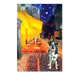 Cafe / Catahoula Leopard Dog Postcards (Package of