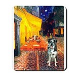 Cafe / Catahoula Leopard Dog Mousepad