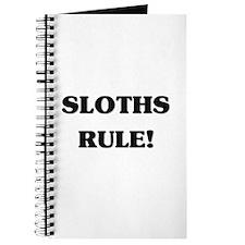Sloths Rule Journal