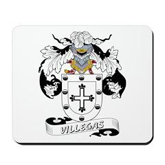 Villegas Family Crest Mousepad