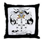 Villegas Family Crest Throw Pillow