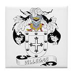 Villegas Family Crest Tile Coaster
