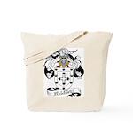 Villegas Family Crest Tote Bag