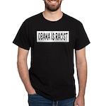 Obama is Racist Dark T-Shirt