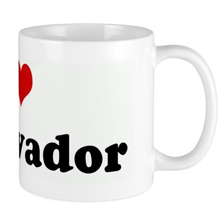 I Love El Salvador Mug