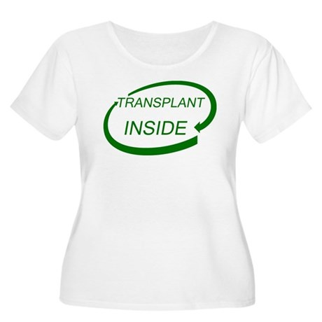 Transplant Inside Women's Plus Size Scoop Neck T-S