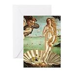 Venus / Cairn Terrier Greeting Cards (Pk of 20)