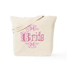 Pink Fancy Bride Tote Bag