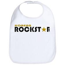 Korean Rockstar Bib