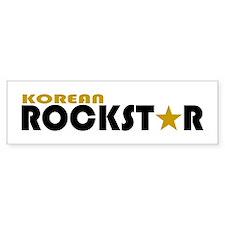 Korean Rockstar Bumper Bumper Sticker
