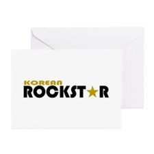 Korean Rockstar Greeting Cards (Pk of 10)