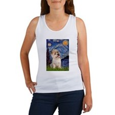 Starry Night / Cairn Terrier Women's Tank Top