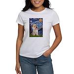 Starry Night / Cairn Terrier Women's T-Shirt