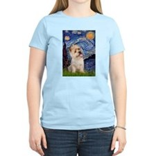 Starry Night / Cairn Terrier T-Shirt