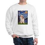 Starry Night / Cairn Terrier Sweatshirt