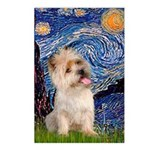 Starry Night / Cairn Terrier Postcards (Package of