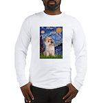 Starry Night / Cairn Terrier Long Sleeve T-Shirt