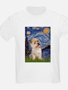 Starry Night / Cairn Terrier T-Shirt