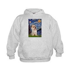 Starry Night / Cairn Terrier Hoodie