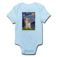 Starry Night / Cairn Terrier Infant Bodysuit