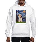 Starry Night / Cairn Terrier Hooded Sweatshirt