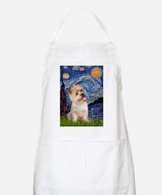 Starry Night / Cairn Terrier Apron